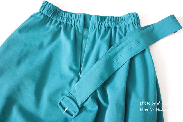 CLEAR IMPRESSIONのフレアスカート